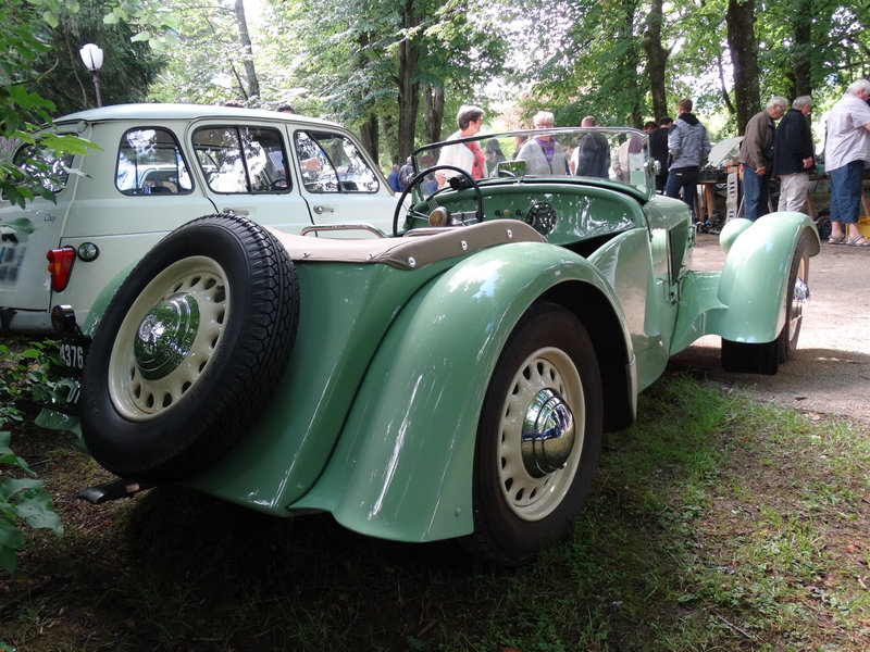 GEORGES IRAT 6CV type MDS roadster 1936 Lons le Saunier (2)