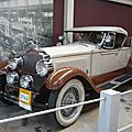 PACKARD Model 343 roadster 1927 Bruxelles Autoworld (1)