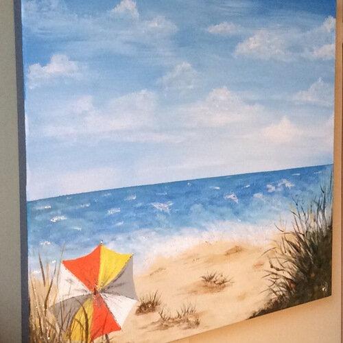 2131556-tableau-abstrait-bord-de-mer-plage-et-parasol-2_medium