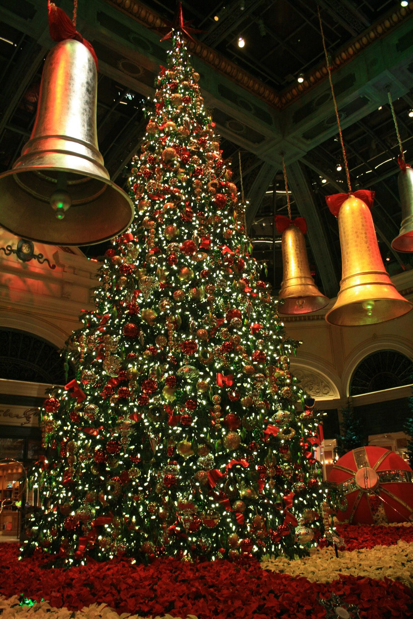 Decoration de noel au bellagio hotel casino l escale - Site americain decoration noel ...