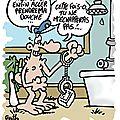 Rab de spirouterie (avec une douche, un policier et du savon)...