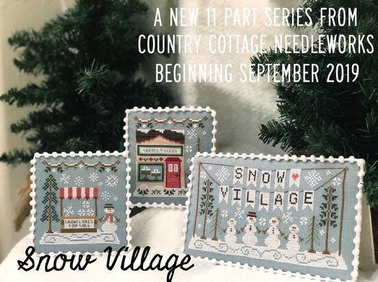 snow village bis