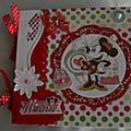 Album minnie mouse le petit modèle pour 30 photos