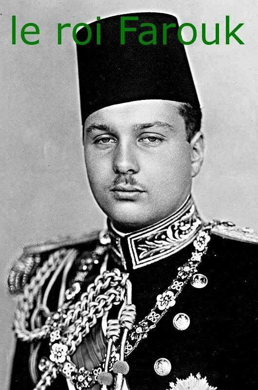 Farouk-roi d Egypte