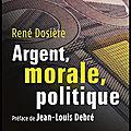 argent morale politique