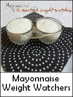 mayonnaise weight watchers