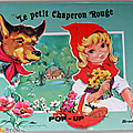 Livre collection ... le petit chaperon rouge (1977) * livre en relief pop-up