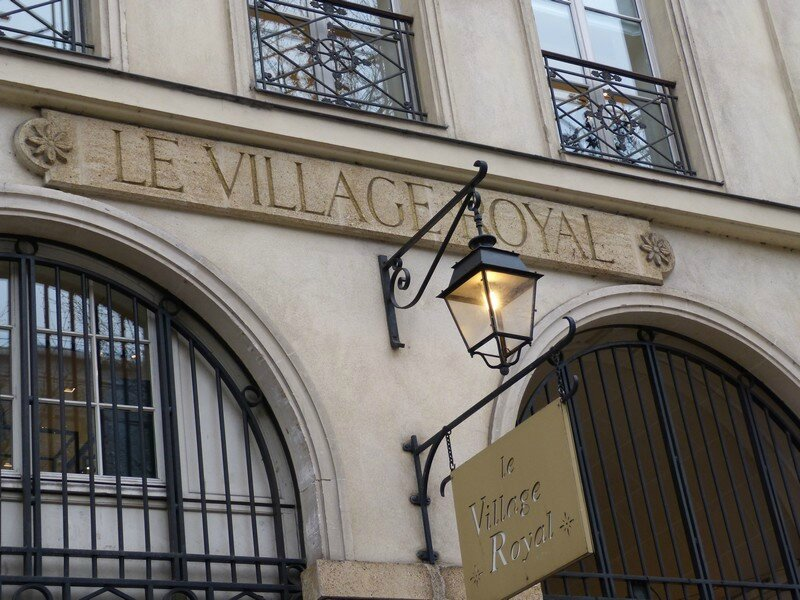 le village royal