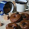 Mini donuts au café