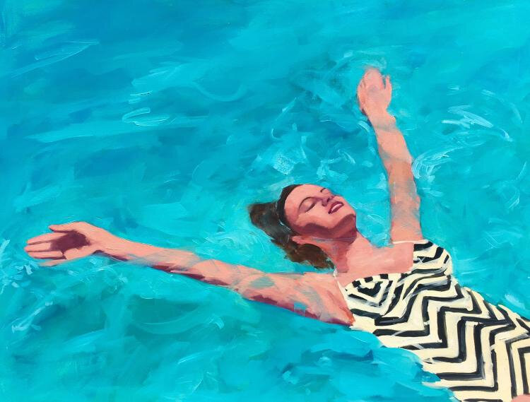 Tracey Sylvester Harris watery_delight