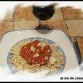 Sauce italienne max de boeuf et porc cocotte pommes de terre et carottes