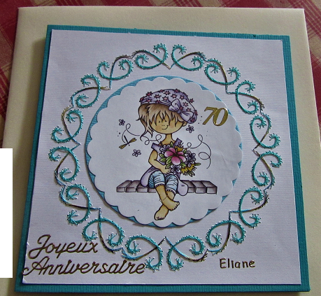 carte Eliane 70 ans
