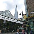 De borough market a london eye - un marche et deux musees - 2eme journee - 2eme partie