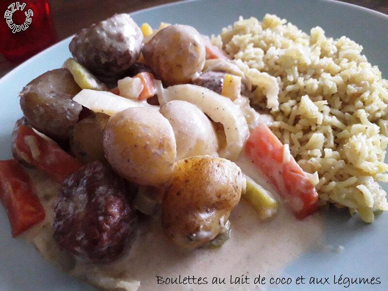 0519 Boulettes au lait de coco et aux légumes 3