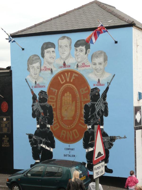 Belfast, une fresque murale