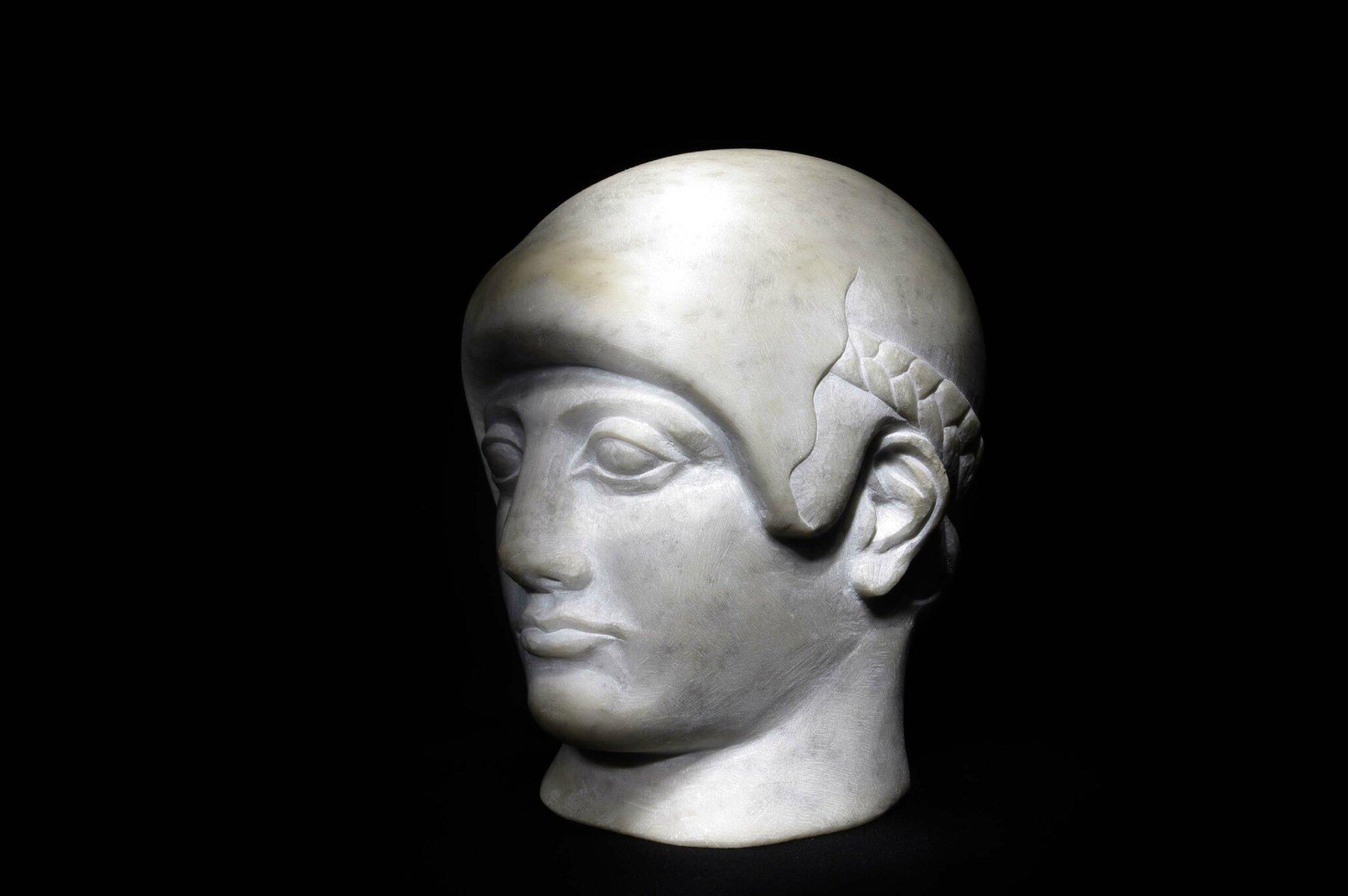 Fulbert DUBOIS sculpteur Tours 37 - Copie antique marbre taille directe