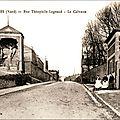 Fourmies - la rue théophile legrand
