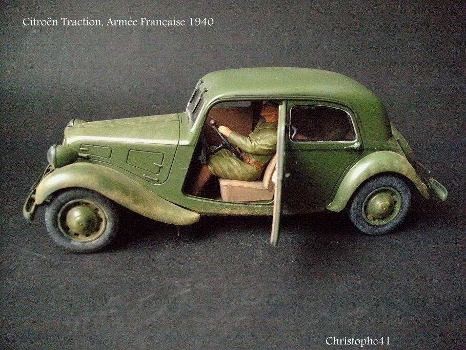 Citroën Traction, armée Française 1940 - PICT5022