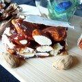Nougat noir, le premier des 13 desserts provençaux