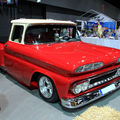Le chevrolet c10 custom stepside de 1960 (rencard burger king septembre 2011)