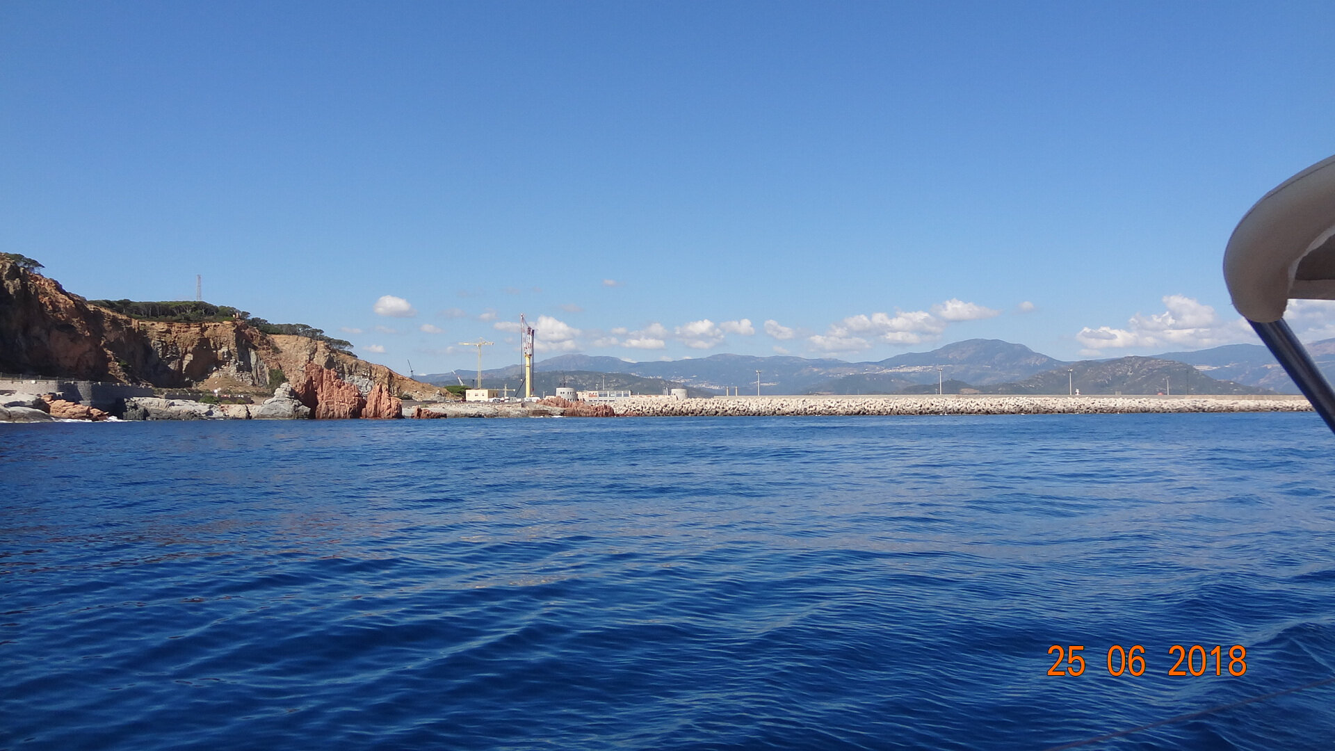 Lundi 25 mardi 26 Traversée Arbatax Capo San Vito 176 milles