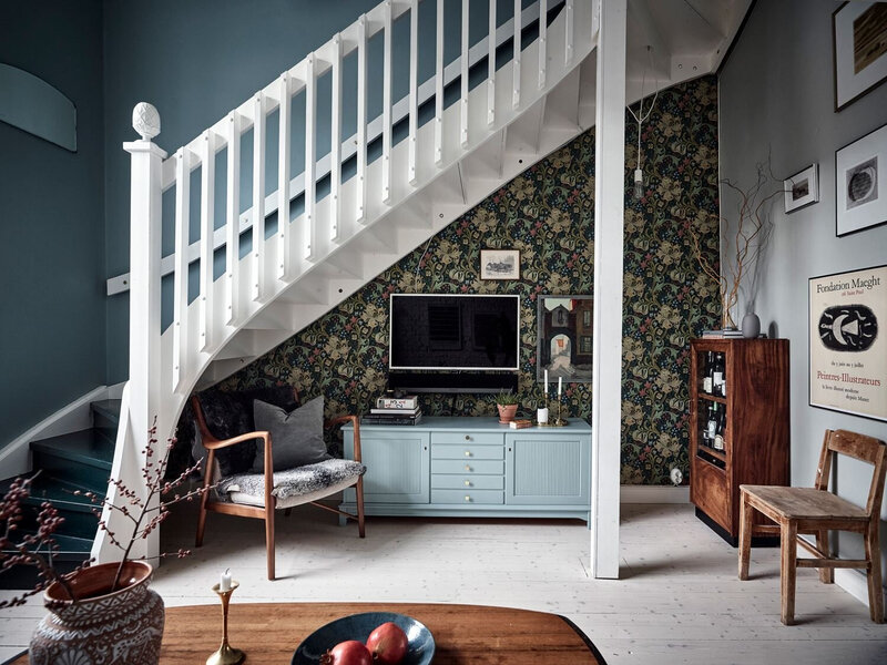Vintage+Touches+in+a+Beautiful+Scandinavian+Home+-+Tdfdfdfdfdfhe+Nordroom