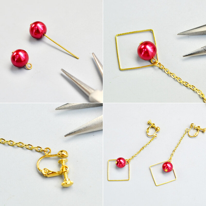 PandaHall-Ideas-on-Making-Simple-Earring-Loop-2