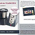 Bonne nouvelle : le cook'in en 10 fois sans frais du 1er juin au 15 juillet 2014 !