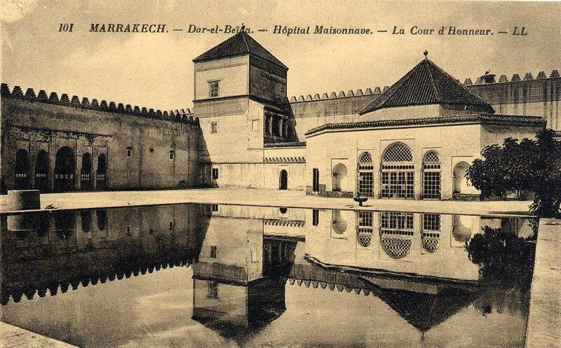 101LL-CP M'Kech ancien_Hôpital militaire Maisonnave 12