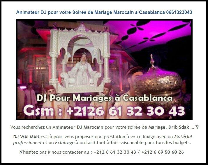 cherche dj femme casablanca femme mariee rencontre paris