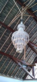 Tahaa lampadaire coquillages