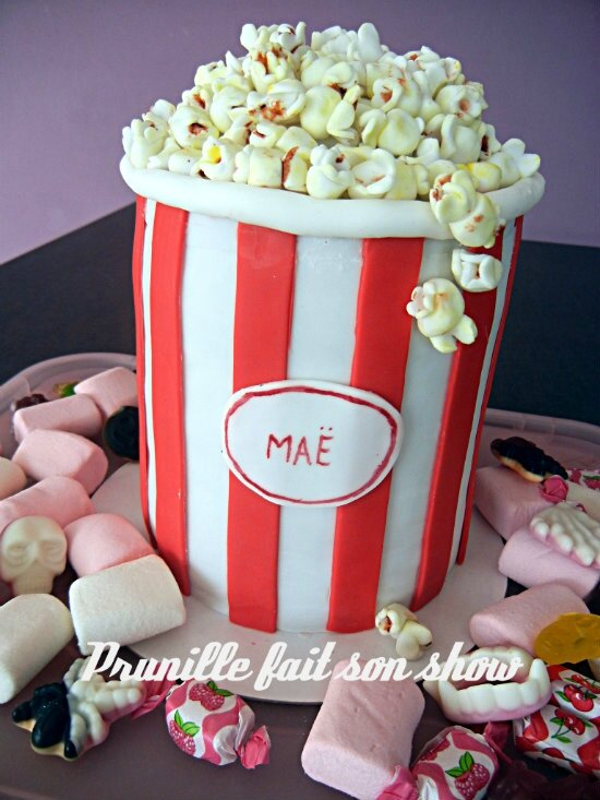 gateau pop corn prunillefee