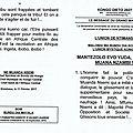 Kongo dieto 2927 : mantezolo evo yuda, yekole muana nzambi !