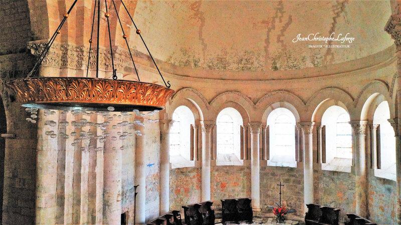 Prieuré Notre Dame Marcillac Lanville DRONE Mars 2021 (66)