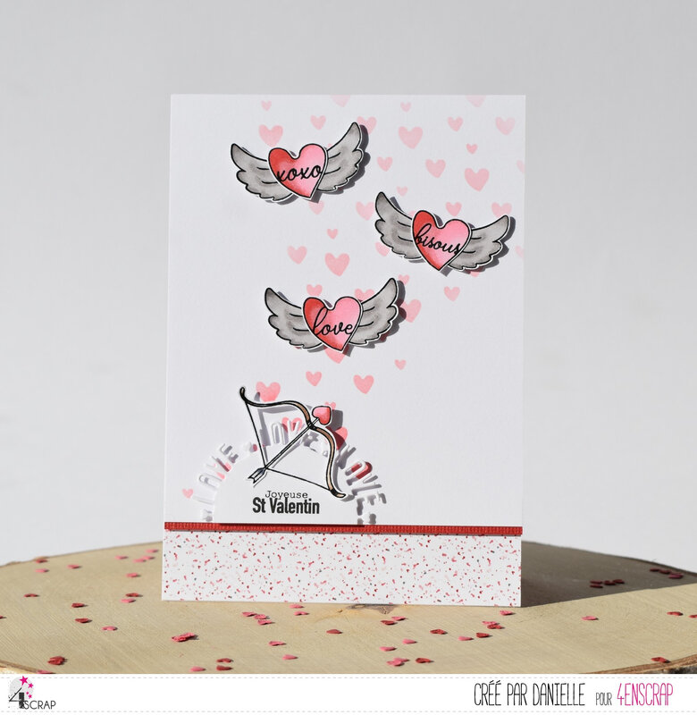 Dani carte 2 Saint Valentin 4enScrap P1