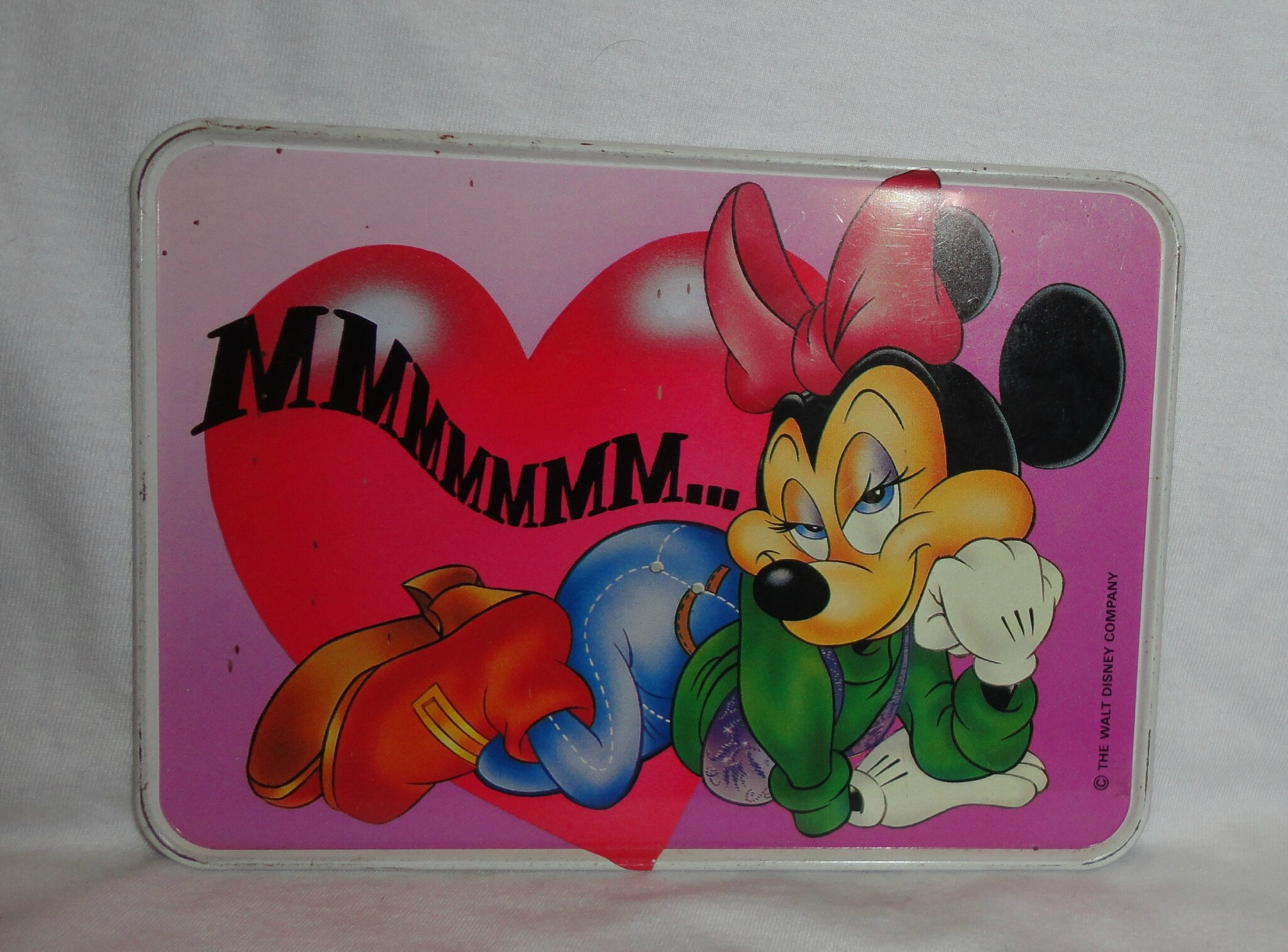 Minnie Mouse Carte en féraille (2)