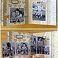 Album Complicité entre soeurs - détails pages 10-11