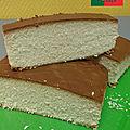 le castella ( gâteau portugais )