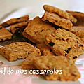 Canistrellis salés (tomate séchée/olive/romarin)