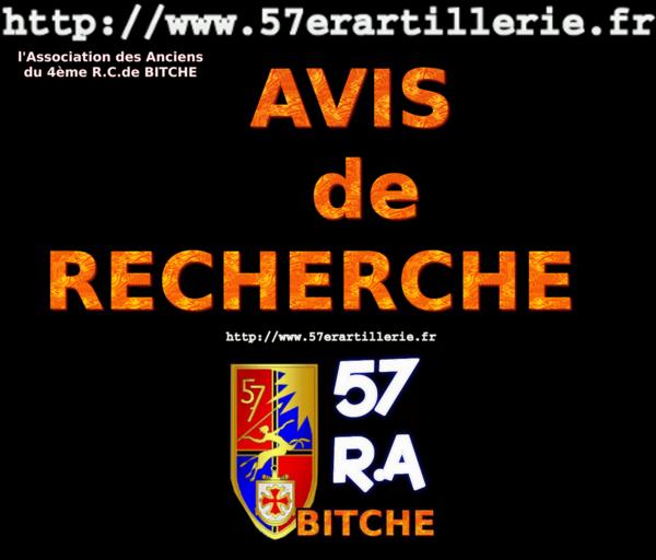 AVIS de RECHERCHE 00