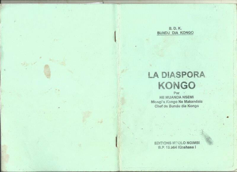 DIASPORA KONGO 1