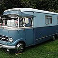 Mercedes benz l319 camping-car
