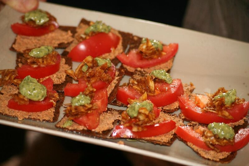 toasts tomates