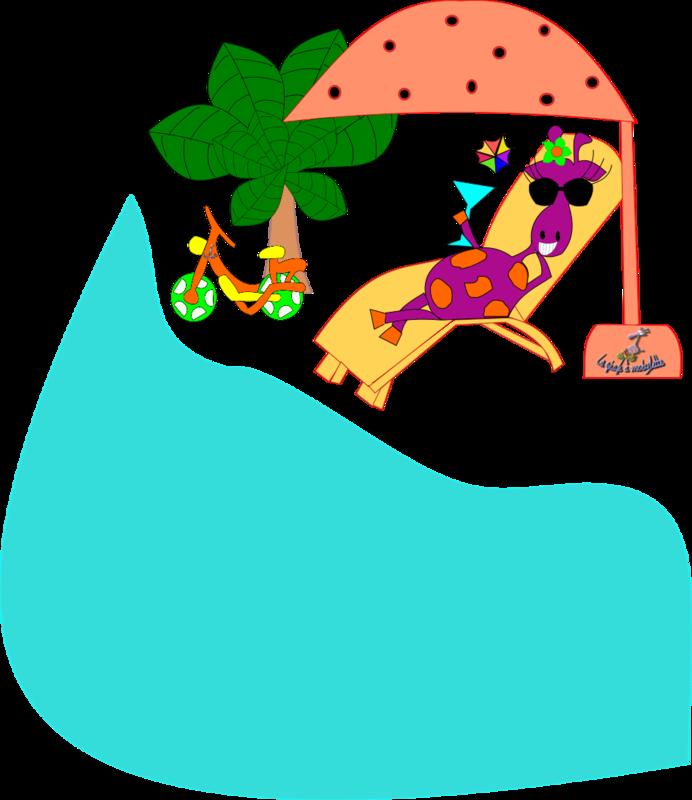 girafe soleil avec mob et logo