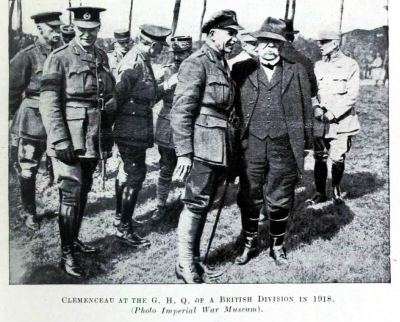 Clemenceau 1918
