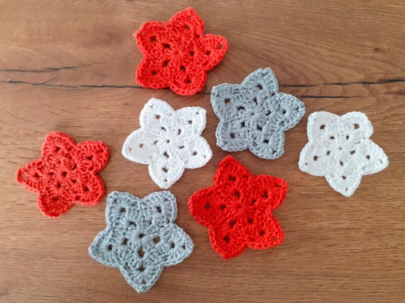 Étoiles crochet (7)