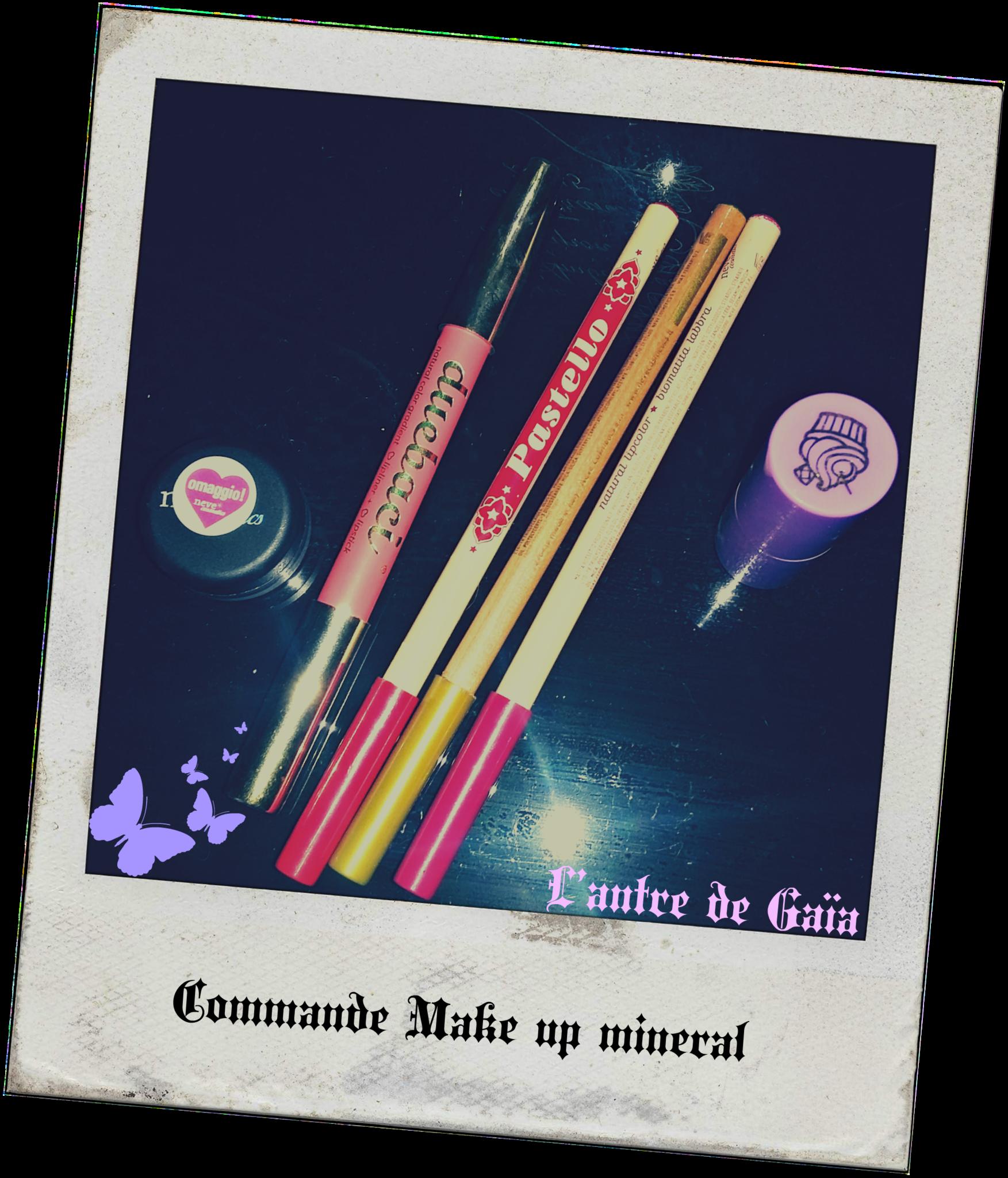 Commande maquillage bio et avis ( Partie 1) : Neve cosmetics.