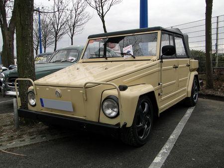 VOLKSWAGEN type 181 Kurierwagen 1969 1983 Salon Champenois du Vehicule de Collection de Reims 2010 1
