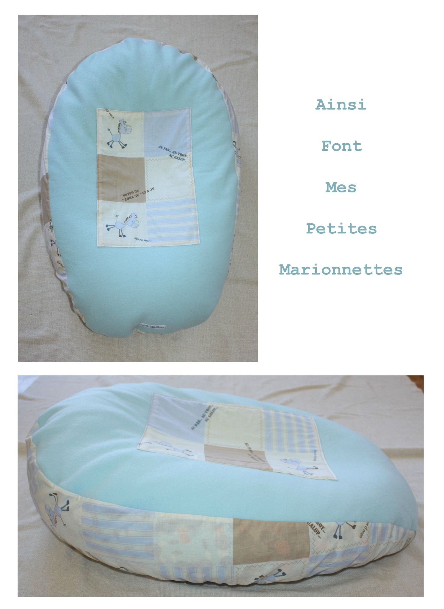 coussin grossesse cocoon