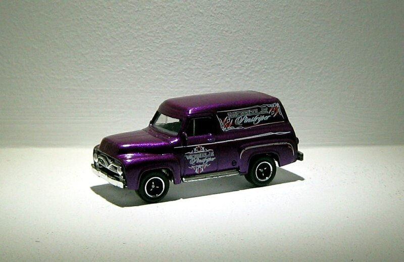 Ford F100 panel delivery de 1955 (Matchbox)